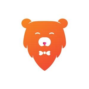 运动品牌logo设计--熊logo图标素材下载