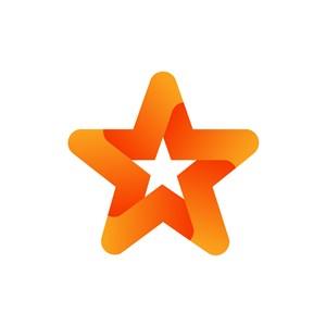 设计公司logo设计--五角星logo图标素材下载