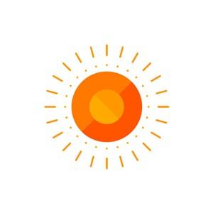 旅游公司logo设计--太阳logo图标素材下载