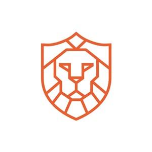設計公司logo設計--獅子logo圖標素材下載