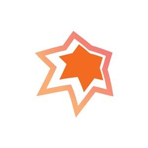 设计公司logo设计--六角星logo图标素材下载