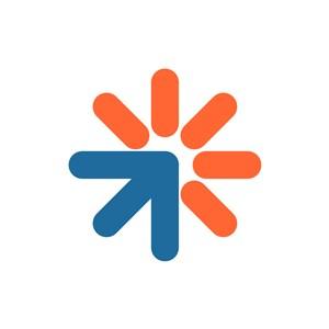 科技公司logo设计--箭头logo图标素材下载