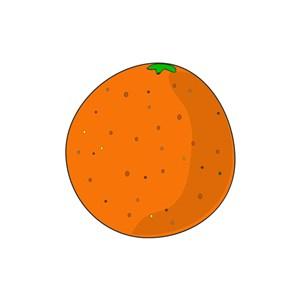 食品公司logo設計--橘子logo圖標素材下載