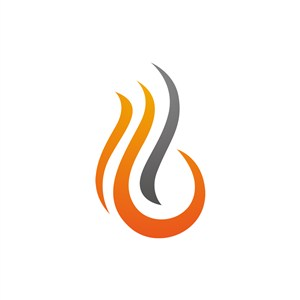 设计公司logo设计--火logo图标素材下载