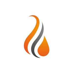 设计公司logo设计--火焰logo图标素材下载