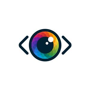 彩色镜头矢量logo图标素材下载