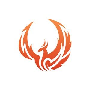 设计公司logo设计--凤凰logo图标素材下载