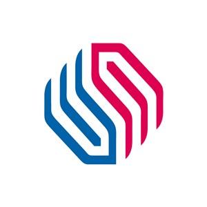 字母E矢量logo图标素材