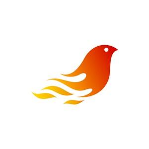 火鸟矢量logo设计素材