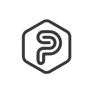 字母P停车场创意logo设计