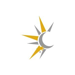 半边太阳矢量logo图标素材下载