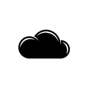 白云矢量logo图标素材下载