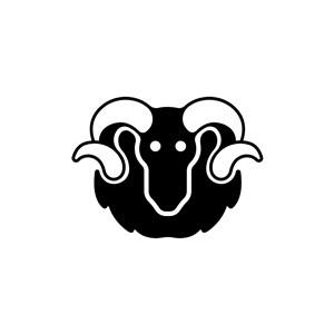 白羊座logo图标素材下载