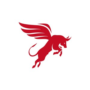 运动休闲logo设计--飞牛logo图标素材下载