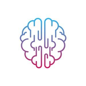 設計傳媒logo設計--大腦logo圖標素材下載