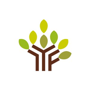 家居公司logo设计--树叶logo图标素材下载