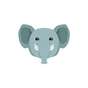 運動休閑logo設計--大象logo圖標素材下載