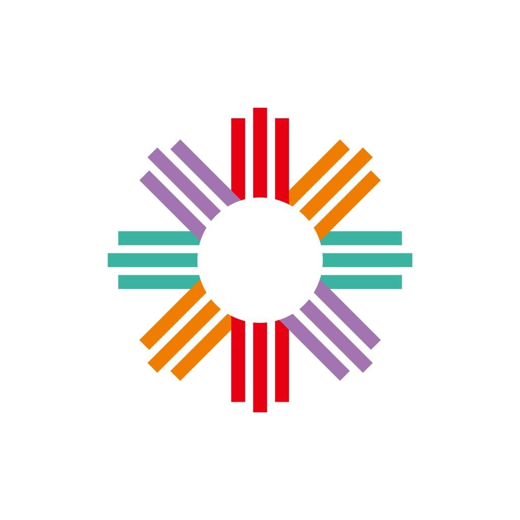 彩色太阳矢量logo图标素材下载
