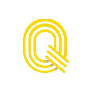 黄色字母Q矢量logo图标设计