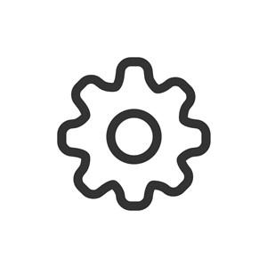 电子机械logo设计--齿轮logo图标素材下载
