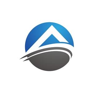 字母A矢量圆形logo图标-2902.svg