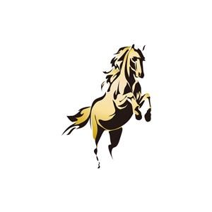 烈马矢量logo图标素材下载
