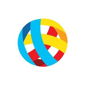 立体圆球矢量图商标logo图标素材下载
