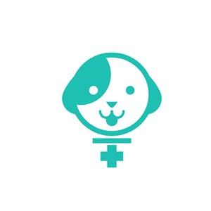 寵物店logo設計--狗狗logo圖標素材下載
