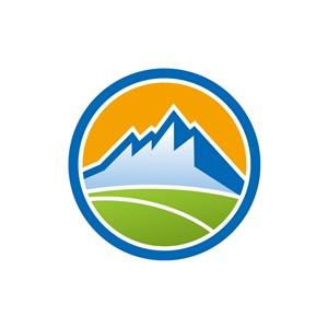 酒店旅游logo设计--山峰logo图标素材下载