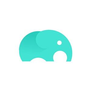 服饰时尚logo设计--小象logo图标素材下载