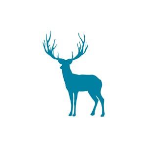 家居地产logo设计--麋鹿logo图标素材下载