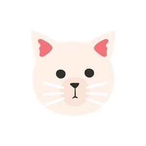 卡通logo設計--貓咪logo圖標素材下載