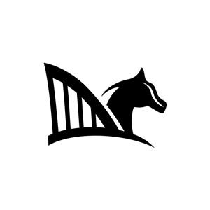 地产logo设计--飞马建筑logo图标素材下载