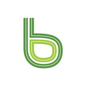 个性英文B字母设计素材下载