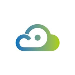 设计传媒logo设计--云朵logo图标素材下载