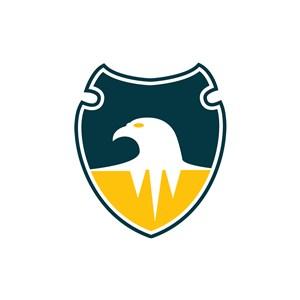 老鹰盾牌矢量图商标素材logo图标素材下载