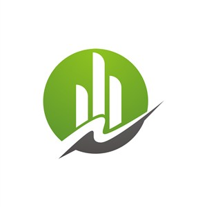 地产logo设计-绿色建筑矢量logo图标素材下载