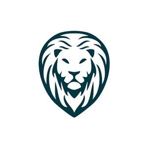 金融機構logo設計--獅子logo圖標素材下載
