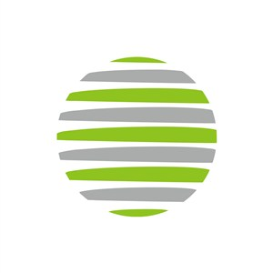 绿色灰色球体矢量logo图标素材下载