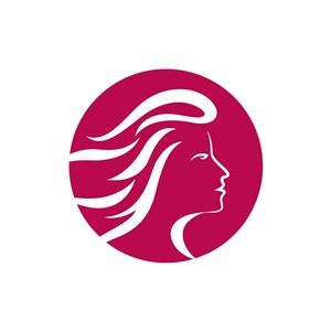 美容logo设计--女人图像logo图标素材下载