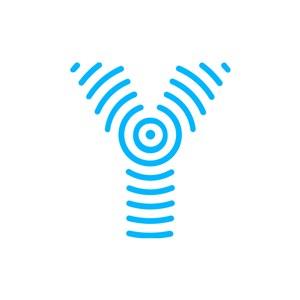 藍色字母Y矢量logo圖標素材下載