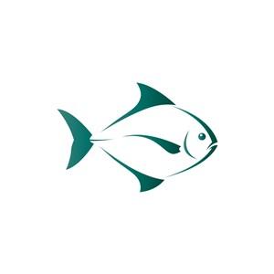 海鲜食品logo设计--鱼logo图标素材下载