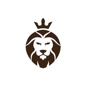 时尚服饰logo设计--皇冠狮子logo图标素材下载