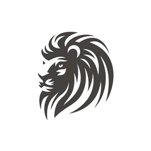 金融機構logo設計--英俊雄獅logo圖標素材下載