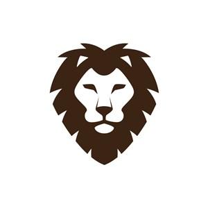 金融機構logo設計--獅logo圖標素材下載