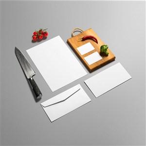 餐厅VI样机设计模板