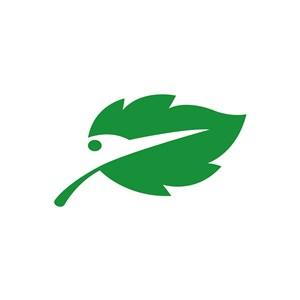 精致綠色樹葉標志