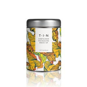 罐装茶叶包装贴图