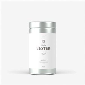 精美罐装茶叶包装贴图
