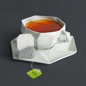 茶叶包装贴图模板
